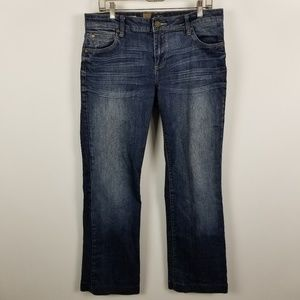 Kut From The Kloth Jackie Boot Cut Jeans 10
